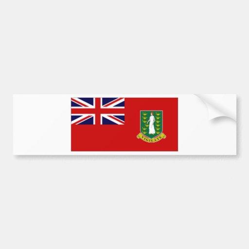Bandeira de British Virgin Islands Adesivo
