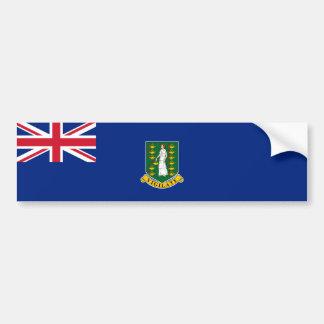Bandeira de British Virgin Islands. Grâ Bretanha,  Adesivo