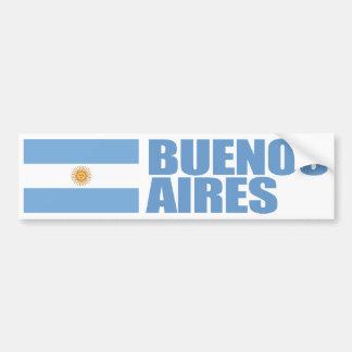 Bandeira de Buenos Aires, Argentina Adesivo Para Carro