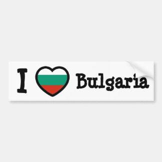 Bandeira de Bulgária Adesivos