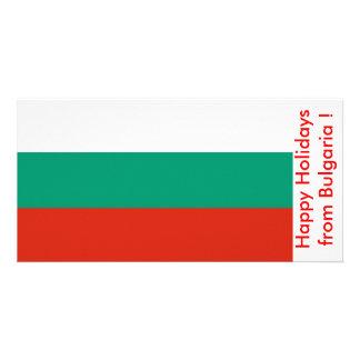 Bandeira de Bulgária boas festas de Bulgária Cartoes Com Fotos