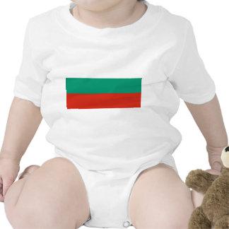 Bandeira de Bulgária Macacãozinho