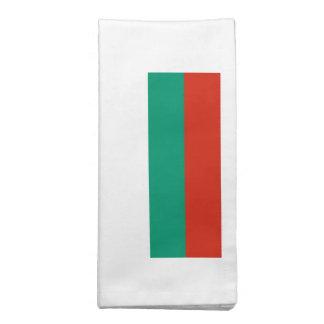 Bandeira de Bulgária Guardanapos