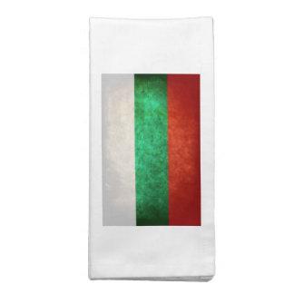 Bandeira de Bulgária Guardanapo Impresso