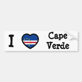 Bandeira de Cabo Verde Adesivo Para Carro