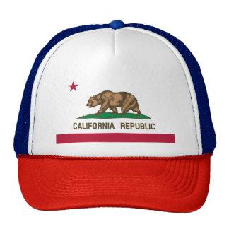 Bandeira de Califórnia Boné