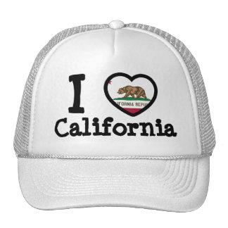 Bandeira de Califórnia Bonés