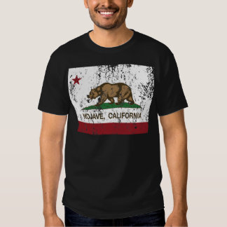 bandeira de Califórnia do mojave T-shirt