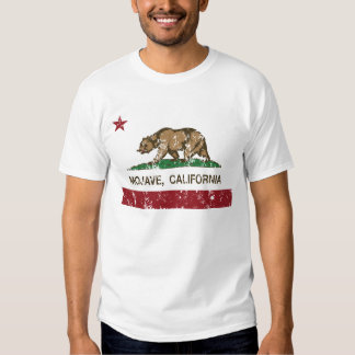bandeira de Califórnia do mojave Tshirt
