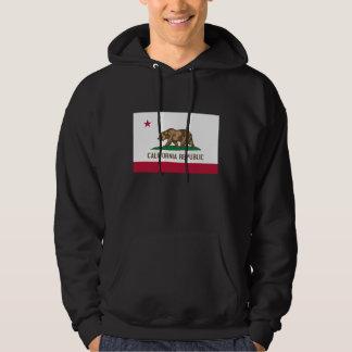 Bandeira de Califórnia Moleton Com Capuz
