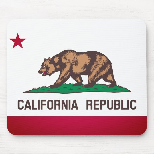Bandeira de Califórnia Mouse Pad