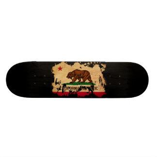 Bandeira de Califórnia Shape De Skate 21,6cm