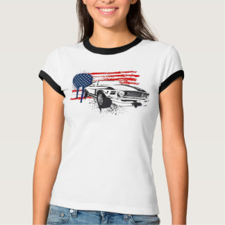 Bandeira de Camaro EUA - personalizada Camiseta