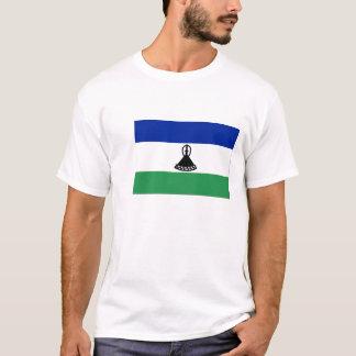 Bandeira de camisetas masculinas de Lesotho