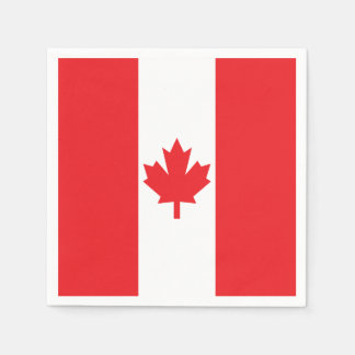 Bandeira de Canadá Guardanapo De Papel
