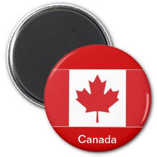 Bandeira de Canadá Ímã Redondo 5.08cm