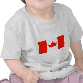 Bandeira de Canadá Camiseta