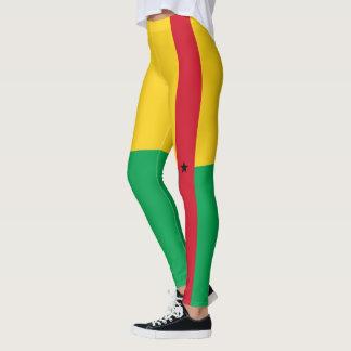 Bandeira de caneleiras de Guiné-Bissau Legging