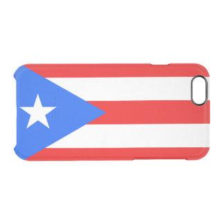 Bandeira de capas de iphone claras de Puerto Rico