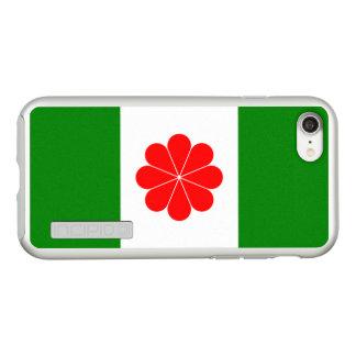 Bandeira de capas de iphone da prata da