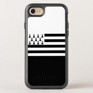 Bandeira de capas de iphone de Brittany OtterBox Capa Para iPhone 7 OtterBox Symmetry