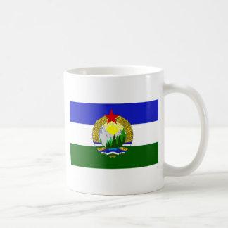 Bandeira de Cascadia socialista Caneca De Café