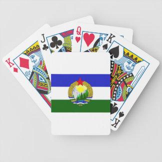 Bandeira de Cascadia socialista Jogos De Cartas