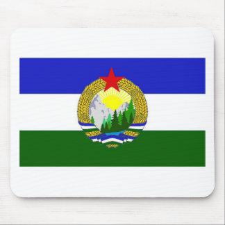 Bandeira de Cascadia socialista Mousepad