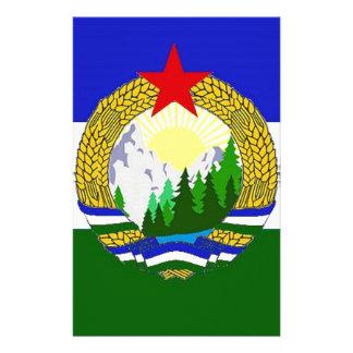 Bandeira de Cascadia socialista Papelaria