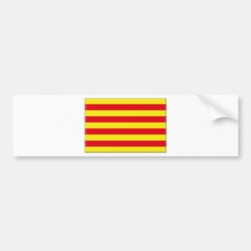 Bandeira de Catalonia (espanha) Adesivos