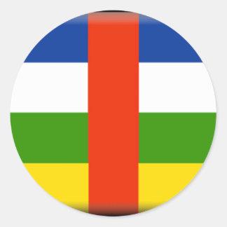 Bandeira de Central African Republic Adesivo
