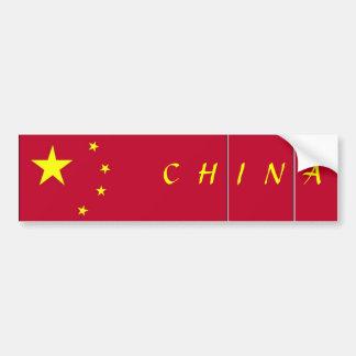 Bandeira de China Adesivo Para Carro