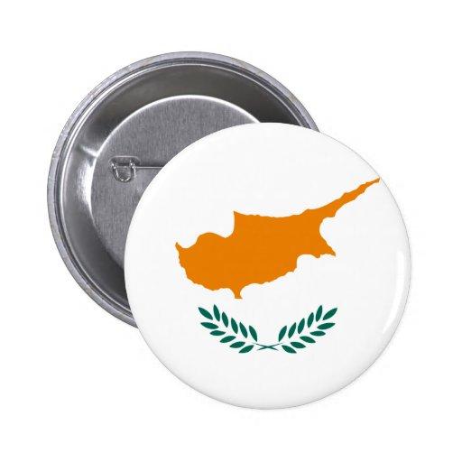 Bandeira de Chipre Boton