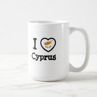 Bandeira de Chipre Caneca