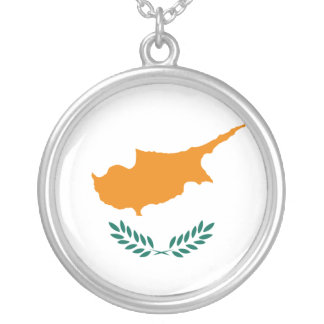 Bandeira de Chipre Colares Personalizados