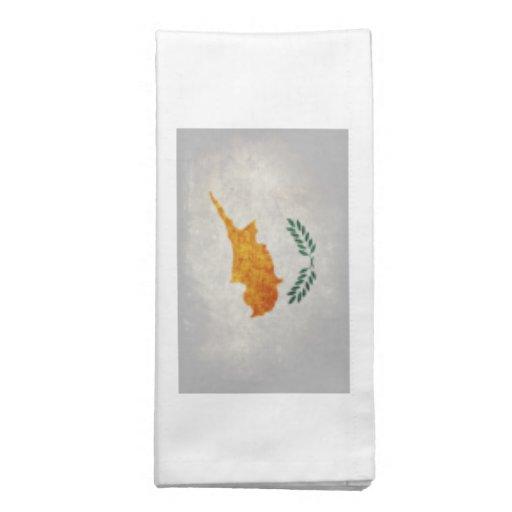 Bandeira de Chipre Guardanapo De Pano