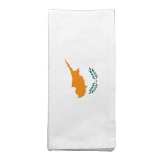 Bandeira de Chipre Guardanapos Impresso