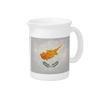 Bandeira de Chipre; Jarros Para Bebidas
