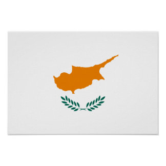 Bandeira de Chipre Posters