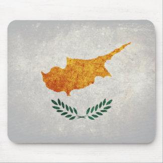 Bandeira de Chipre Mouse Pads