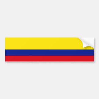 Bandeira de Colômbia Adesivo Para Carro