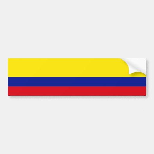 Bandeira de Colômbia Adesivos