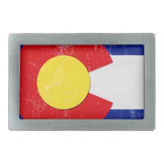 Bandeira de Colorado afligida
