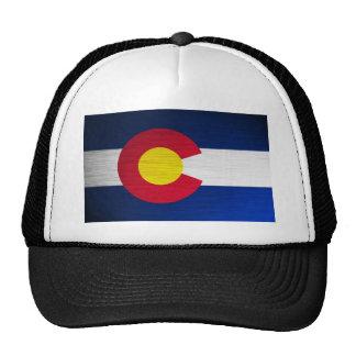 Bandeira de Colorado escovada Boné