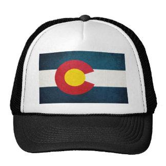 Bandeira de Colorado rústica Bonés