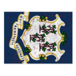 Bandeira de Connecticut Cartoes Postais