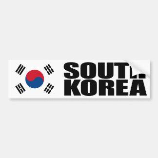 Bandeira de Coreia do Sul Adesivo Para Carro