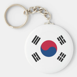 Bandeira de Coreia do Sul Chaveiro