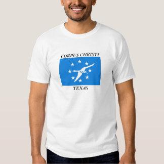 Bandeira de Corpus Christi Camiseta
