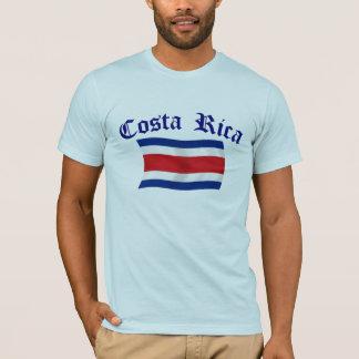 Bandeira de Costa Rica Camisetas